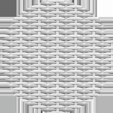 White Wash Woven Wicker  Color
