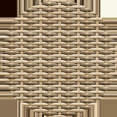 Cocoa Bean Woven Wicker Color