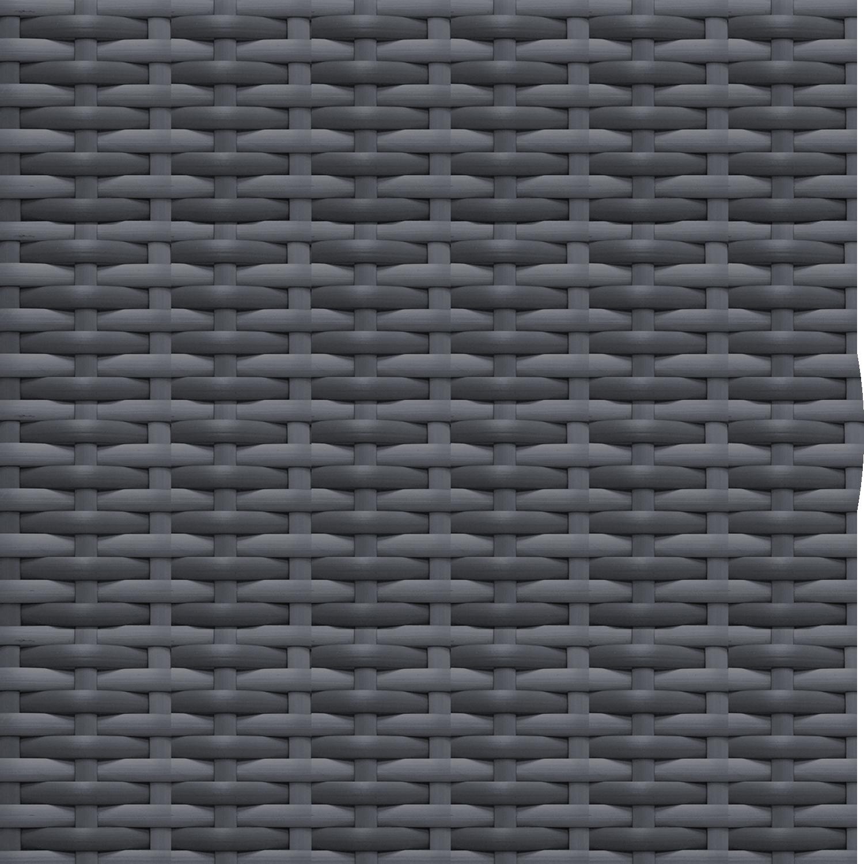 Slate Gray Woven Wicker  Color